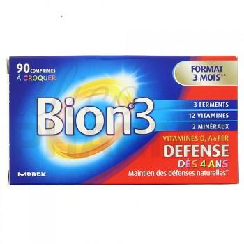 Bion 3 Défense Junior à croquer 90cp - 3mois