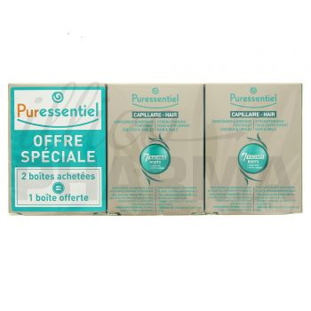 Puressentiel fortifiant cheveux ongles 90 capsules