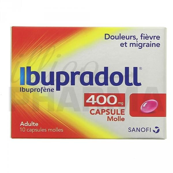 ibupradoll 400mg capsules ibuprof ne sanofi. Black Bedroom Furniture Sets. Home Design Ideas