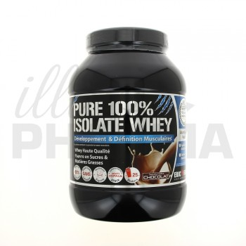Pure 100% Isolate Whey Chocolat 750g Eric Favre
