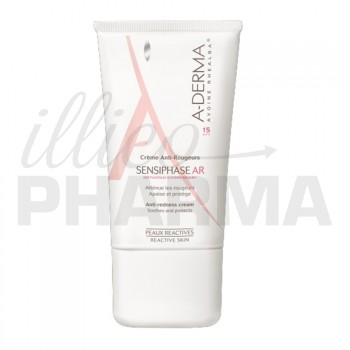 Sensiphase AR SPF 15 Crème anti-rougeur 40ml Aderma
