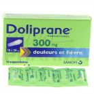 Doliprane 300mg Suppositoire