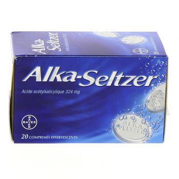 Alka Seltzer  20 Cpr effervescents