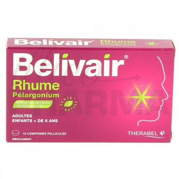 Belivair Rhume Pélargonium Thérabel