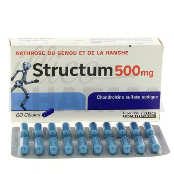 Structum en cas d'arthrose