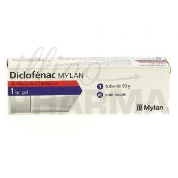 Diclofenac Mylan 1 % Gel