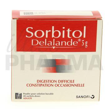 Sorbitol Delalande 5g 20sachets