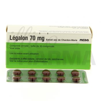 Legalon 70mg 40cpr