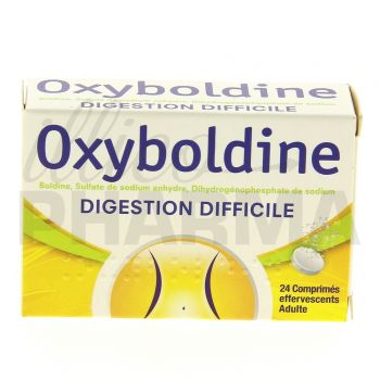 Oxyboldine 24cpr effervescents