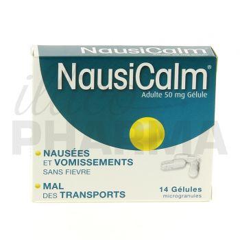 Nausicalm 50mg 14gélules