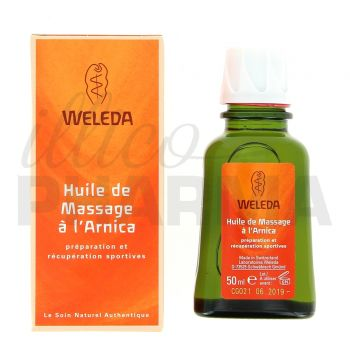 huile de massage l 39 arnica 50ml weleda pharmacie illicopharma. Black Bedroom Furniture Sets. Home Design Ideas