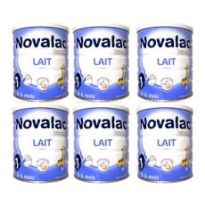 Lot Novalac x6 1er âge 800g