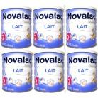 Lot Novalac x6 2ème âge 800g