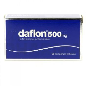 Daflon 500mg 60cpr