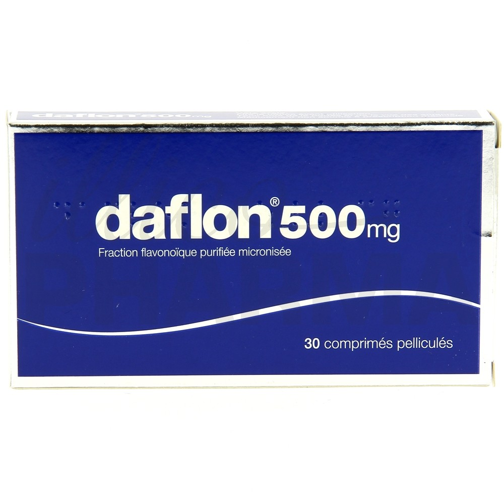 Daflon 500mg 30cpr - Pharmacie en ligne IllicoPharma