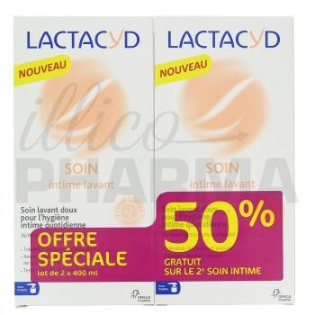 Lactacyd Soin lavant doux intime 2x400ml