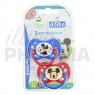 DODIE 2 sucettes Mickey +6 mois