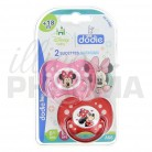 DODIE 2 sucettes Minnie +18 mois