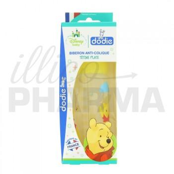 Dodie Biberon anti-colique Winnie Jaune 0-6 mois 270ml
