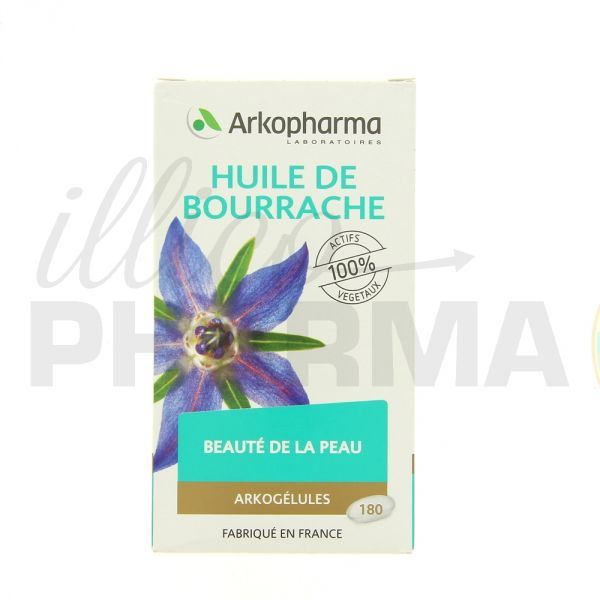 arkog lules huile de bourrache x180 phytoth rapie pharmacie illicopharma. Black Bedroom Furniture Sets. Home Design Ideas