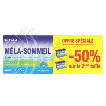 GOVital Méla-Sommeil Lot 2x30 URGO