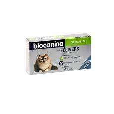 Félivers vermifuge Biocanina