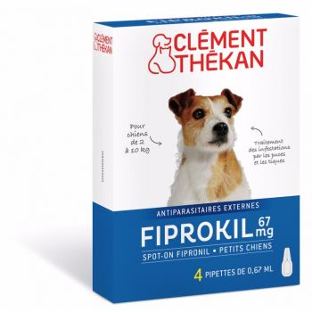 Fiprokil Chien 2-10kg x4