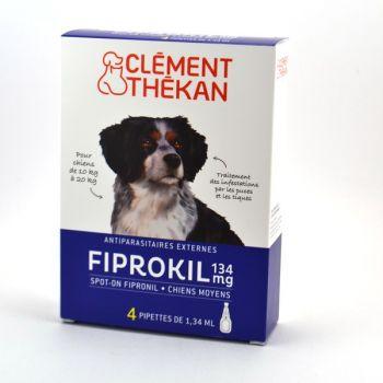 Fiprokil Chien 10-20kg x4