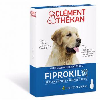 Fiprokil Chien 20-40kg x4