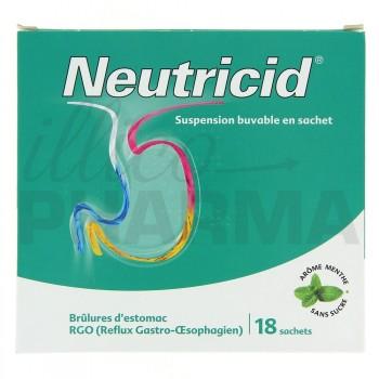Neutricid Suspension buvable x18 sachets