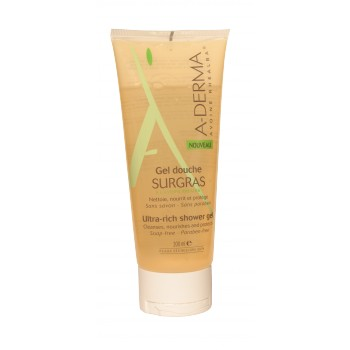 Gel douche surgras 200ml Aderma