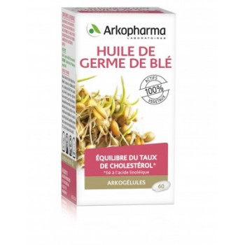 Arkogélules Huile de germe de blé x60