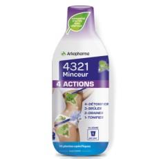 4321 Minceur 4 actions
