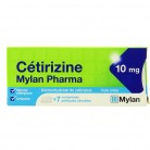 Cetirizine Mylan 10mg 7Cpr