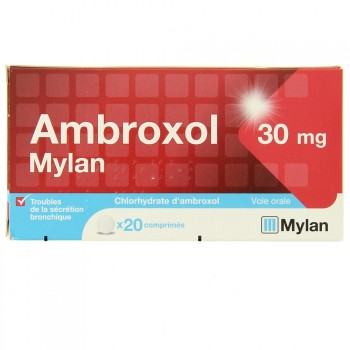 Ambroxol Mylan 30mg 20cpr