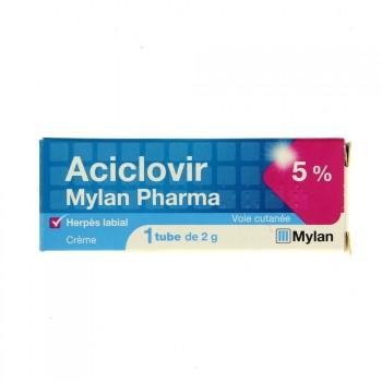 Aciclovir Mylan crème 5%