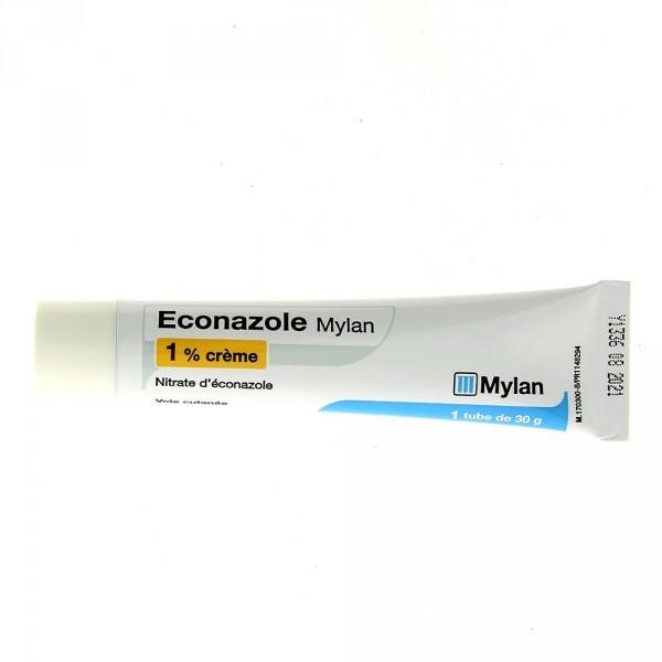 econazole mylan 1   cr u00e8me - m u00e9dicament mycoses