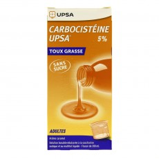 Carbocistéine Adulte 5% UPSA 200ml