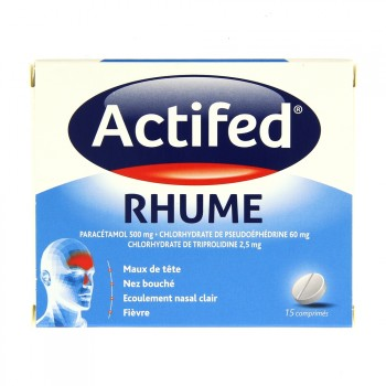 Actifed Rhume 15cpr