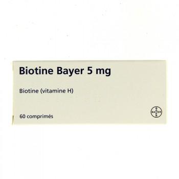 Biotine Bayer 5 mg 60cpr