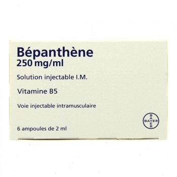 Bepanthene injectable 250 mg/ml