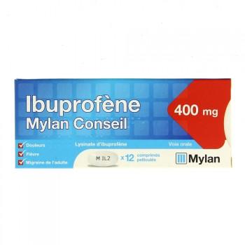 Ibuprofène Mylan 400mg 12cpr