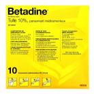 Betadine Tulle 10% 10x10cm 5...