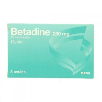 Betadine 250mg Ovule x8