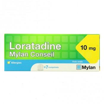 Loratadine Mylan Conseil 10mg 7cpr