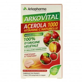 Arkovital Acérola 1000 x30cp