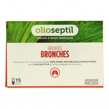 Olioseptil bronches 15 gélules