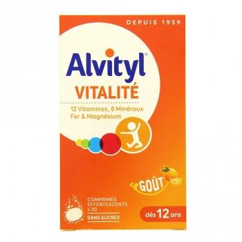 Alvityl Vitalité effervescent x30cp