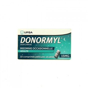 Donormyl 15 mg sécable
