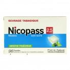 Nicopass 2,5mg x96 Menthe Fraîcheur
